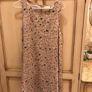 Cynthia Rowley lavender paisley linen dress NWOT